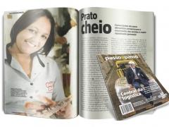 Matéria da revista PASSO A PASSO – Edição - Julho 2014